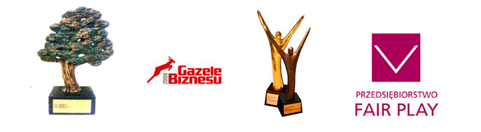 nagrody Dąb Małopolski, Gazela, biznesu, Przedsiębiorstwo Fair Play